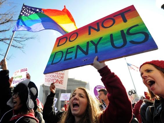 Image: US-JUSTICE-GAY-MARRIAGE